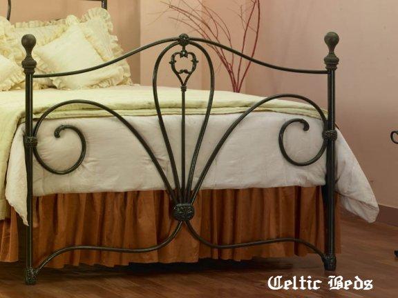 celtique lit en fer forge le lit blarney. Black Bedroom Furniture Sets. Home Design Ideas