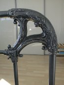 antraciet celtic bed rail